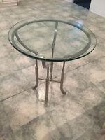 belle table vitrée de salon PAS CHER
