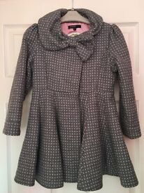 M&S Autograph girls swing coat Aged 5-6