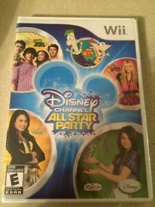 NEW in package Disney Channel All Star Party for Wii