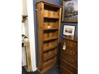 Solid Antique Pine Book Case - Can deliver