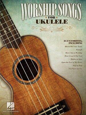 Worship Songs for Ukulele Sheet Music Ukulele Book NEW 000702546