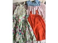 Bundle Of 8 dresses 2-3 years next and Ralph lauren