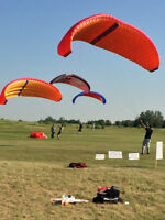 Powered paragliding Event in Forestburg July 3,4,5