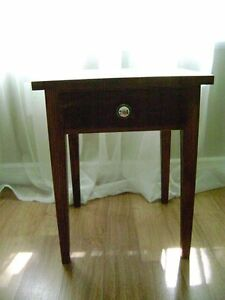 FURNITURE – table & antique bench/stool