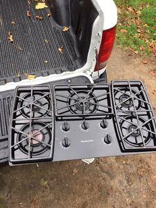 Kitchen Aid gas stove range Kawartha Lakes Peterborough Area image 1