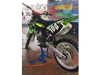 Kx 125 2008 mx, motocross bike yz, ktm, cr possible swap for jet ski