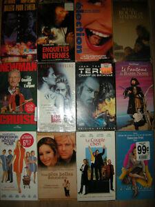 Lot de 36 cassettes VHS (Films en français) West Island Greater Montréal image 2
