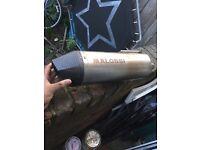 Malossi Exhaust - Came off Honda Ps/ sh - Originally for gilera runner vxr