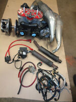POLARIS RMK 800 ENGINE WITH SLP PIPES / CHEATER HEADS/FIT IQ