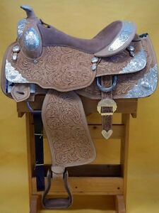 "16"" Western Show Saddle+Tack Light Colour~DEAL$799~New+Warranty London Ontario image 1"