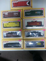 HO scale trains and supplies