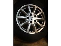 Genuine BBS Porsche 18inch alloy wheels