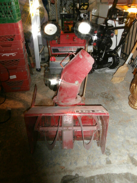 "20"" 5HP Viking Snowblower BITCOIN ACCEPTED 