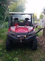 2011 Polrais Ranger 800 xp limited edition UTV side by side.