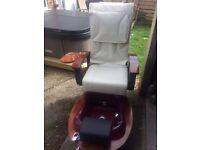 Spa Pedicue Chair