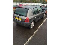 Renault Clio 1.6 auto. 57000 miles!