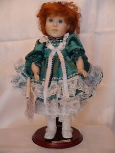 Meggan's Collectors Canadian Procelain Handmade Doll Anna Belle London Ontario image 3