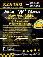 Parking in Enfield with a cab to and from airport included