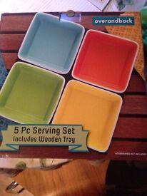 5 Pc Serving Set
