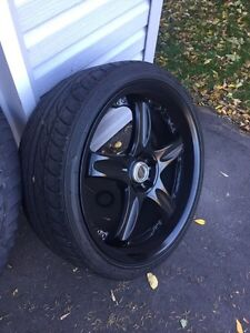 Authentic Rays Volk GT-C wheels 2 piece forged Cambridge Kitchener Area image 7
