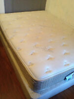 Double Mattress only $60! comes with box spring