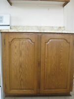 Solid wood kitchen cabinet doors / portes d'armoires de cuisine