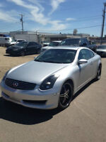 2006 Infiniti G35 6MT Sports Coupe ***80,000 kms!!!  REV edition