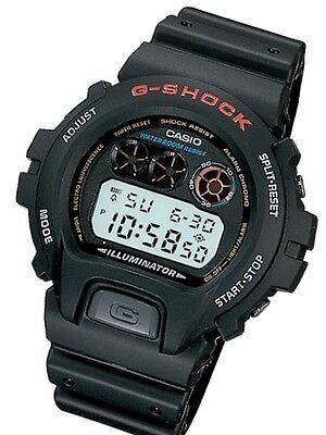 Casio Dw6900 1V Mens Classic Large Gshock Black Resin Digital Chrono Sport Watch