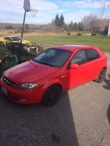 2005 Chevy optra 5 AS IS/PARTS Belleville Belleville Area image 1
