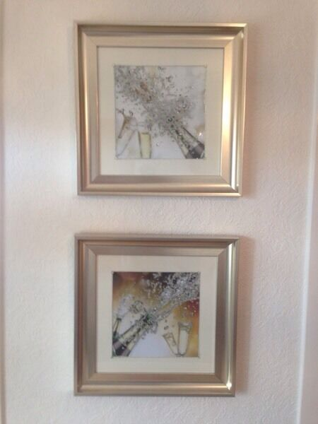 Matching picturesin Bucksburn, AberdeenGumtree - These pics are new, only been hung for 2 weeks, they are 20 inches square. They cost £45 each. Collection from Stoneywood