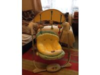 Chicco polly swing rocking chair
