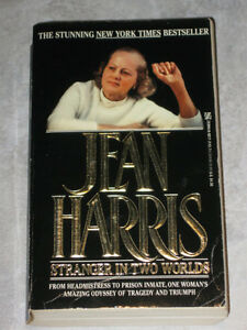 JEAN HARRIS..Stranger in Two Worlds..A New York Times Bestseller
