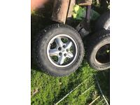 Genuine Land Rover discovery 2, x5 alloys