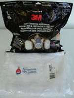 SPRAYPAINTERS MASK AND COVERALLS - NEW - NEVER OPENED