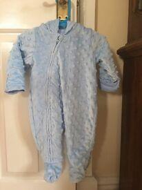 Faux Fur George Baby Coat 0-3 Months