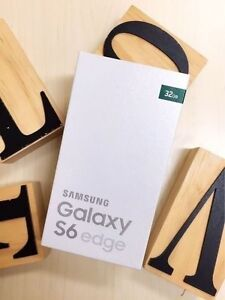 Brand new Samsung Galaxy S6 EDGE white 32G UNLOCKED in box Calamvale Brisbane South West Preview