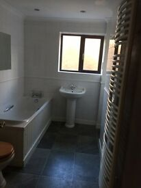 Two double rooms available in 4bedroom-house