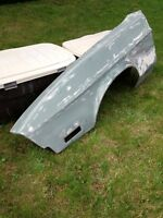1971 1972 Mustang left front fender original Ford rust free