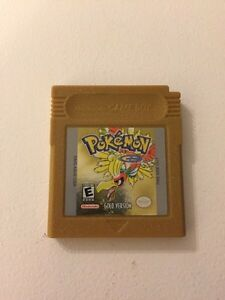 Pokemon gold, gameboy