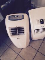 2 air conditioner portatif LG 12000 BTU 3en1
