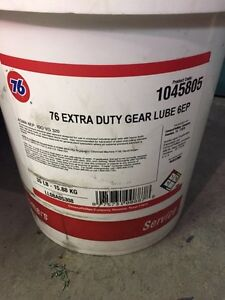 Extra Duty Gear Lube 5 Gal Pail