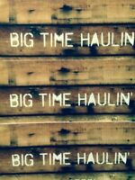 Big Time Haulin' Small Moving/Deliveries 3062028295