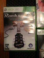 Xbox 360, 2 Controllers, and Seven Games for Sale!
