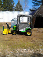 2006 JD x324 TRACTOR