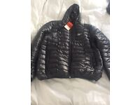 Men's North Face quilted jacket XL