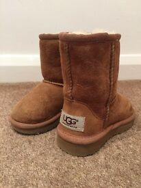 Genuine Toddler ugg boots size 5