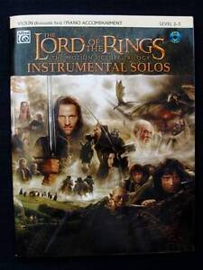 Violin - Lord of The Rings Instrumental Solos + CD [Alfred] Loganholme Logan Area Preview