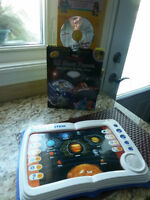 Electronic SOLAR SYSTEM game and All About Planets book with CD