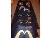 Evisu jeans