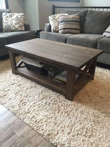 Solid Wood Rustic Coffee Tables Prince George British Columbia image 2